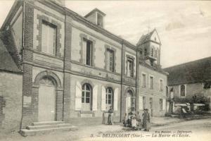 La mairie et l'Ecole